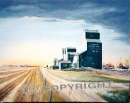 Delia Elevators (SOLD) Giclee Prints Available