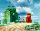 Oyen Elevators (SOLD) Giclee Prints Available